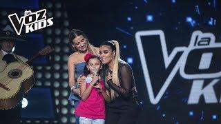 Cami entrenó con Karol G | La Voz Kids Colombia 2018