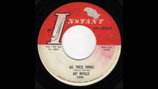 Art Neville - All These Things ( 1962 )