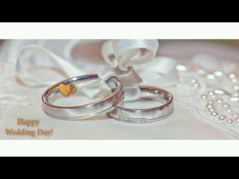 👰🏻 🤵🏻 💖 Happy Wedding Day! 4K Beautiful slideshow