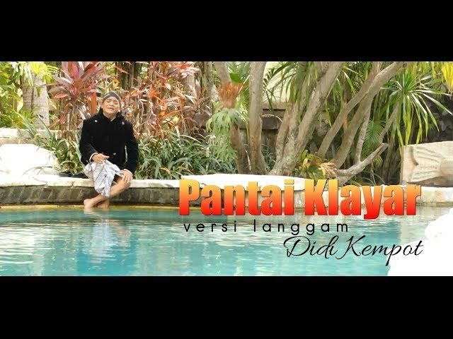 Didi Kempot - Pantai Klayar (Langgam) [OFFICIAL]