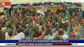 Osun ADP Holds Governorship Campaign Rally Pt.1