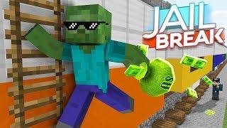 Monster School : JAILBREAK CHALLENGE - Minecraft Animation
