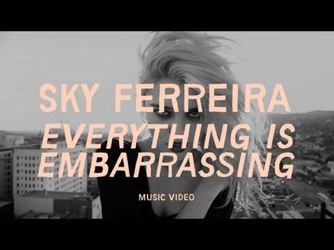 Sky Ferreira — Everything Is Embarrassing — Listen, watch ...