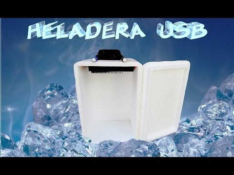 Heladera usb casera - Usb fridge (diy)