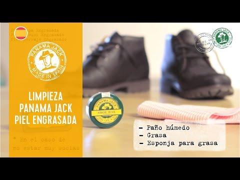 Cómo limpiar tus botas Panama Jack piel engrasada