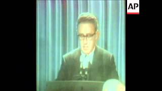 SYND 16/12/72 HENRY KISSINGER PRESS CONFERENCE ON PEACE IN VIETNAM