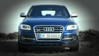 Audi SQ5 TDI trailer