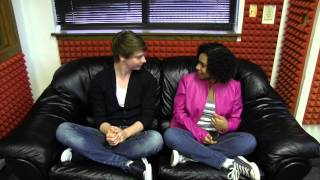 Greg's Big Black Couch with Calum Worthy
