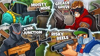 THE FOUR CORNERS CHALLENGE w/ Ninja, DrLupo, and Timthetatman - Fortnite Battle Royale