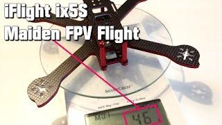 IFlight ix5S Maiden FPV Freestyle Flight - 46g Frame - Will it BREAK??? [by JayQ]