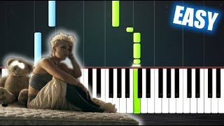 P!nk   Just Give Me A Reason Ft. Nate Ruess   EASY Piano Tutorial By PlutaX