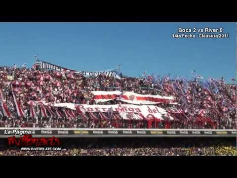 """""""4.000 almas contra 50.000 amargos [HD]"""" Barra: Los Borrachos del Tablón • Club: River Plate"""