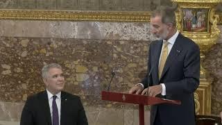 Palabras de S.M el Rey en el Almuerzo ofrecido en honor de Su Excelencia el Presidente de la República de Colombia, Iván Duque Márquez y la Primera Da