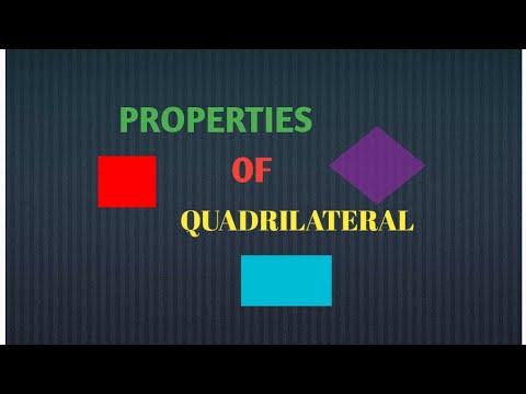 Properties of Quadrilateral by ridham bijlani.