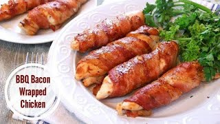 Bacon Wrapped Chicken In 30 Minutes