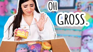 Unboxing YOUR Used Squishies | Squishy Makeover Candidates