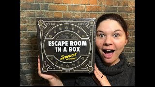 Escape Room in a Box - The Werewolf Experiment Review (No Spoilers)