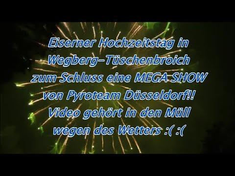 Eiserne Hochzeit in Tüschenbroich (Mega Show Pyroteam Düsseldorf) 07.102017