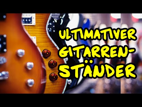 ★ Achtung Gitarrenständer ► Welcher Ständer für meine Gitarren?  #FrageFreitag