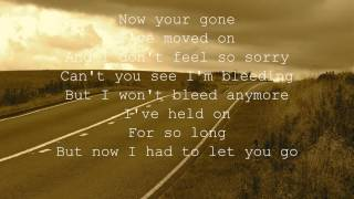 12 Stones - Broken Road with lyrics [HD].