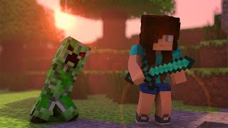 Minecraft Song ♫ CREEPER a Minecraft Parody (Minecraft Animation)