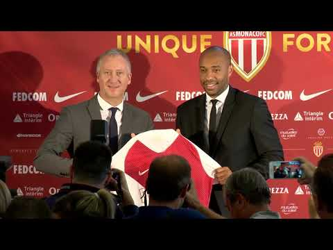 AS Monaco officially presents Thierry Henry