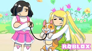 She Found An Abandoned Puppy But The Mean Girl Stole It... | Robloxian Highschool Roleplay