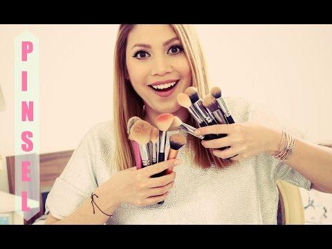 Make-up Pinsel reinigen | funnypilgrim