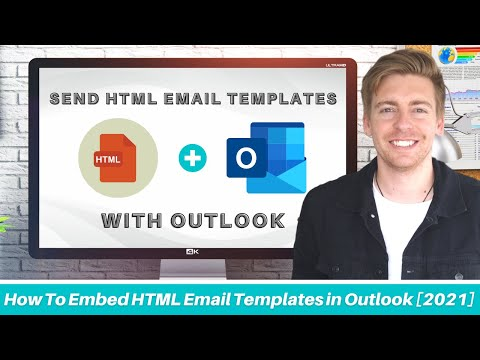 How To Embed HTML in Outlook Email   Outlook live & Microsoft 365 [2021]