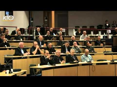 Assemblée des évêques - séance de clôture (automne 2015)