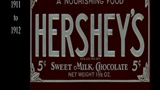 Hersheys Chocolate Bar Wrappers 1900 To 2016 HD