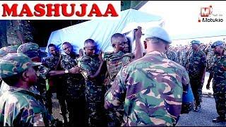 MAPOKEZI YA MIILI 14 YA WANAJESHI WALIOFARIKI KONDO DRC