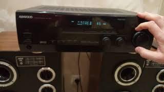 Kenwood v5020 av surround receiver