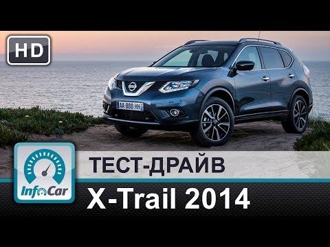 Nissan  X Trail Паркетник класса J - тест-драйв 1