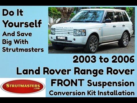 Range Rover Air Suspension | 2003-2006 Range Rover Strutmasters (Install Video)