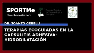 Terapias Ecoguiadas en la Capsulitis Adhesiva: Hidrodilatación - Dr.Joanto Gebelli