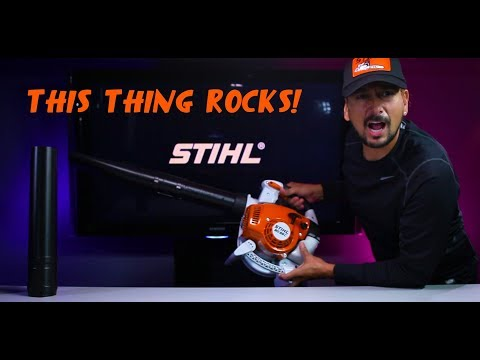 Stihl BG-86C Gas Blower Unbox/Review – Best Blower!
