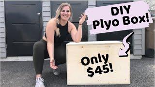 TESTING DIY GYM EQUIPMENT! || Part 2 = PLYO BOX!
