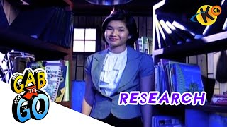 Grade 9 English | Research | Gab To Go