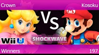 SW 197 - TLOC | Crown (Peach, Rosalina) vs GGEA | Kosoku (Mario) Winners - Smash 4