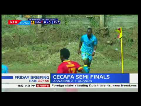 Kenya secures a place in the CECAFA finals against Zanzibar after they win in Kisumu