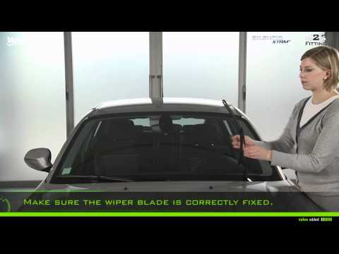 How to Fit Valeo Silencio Pinch Tab Wiper Blades Type No. 2