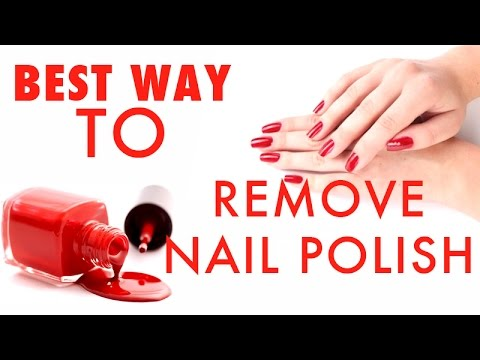 Best-Way-to-Remove-Nailpolish-Hack-of-The-Day-Puthuyugam-TV