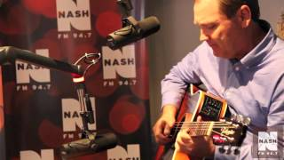 "Steve Wariner plays ""Let My Guitar Do The Talkin'"" Live in the NASH FM 94.7 Studio"