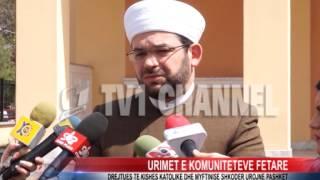 preview picture of video 'Drejtues te Kishes Katolike dhe myftinise Shkoder urojne Pashket'