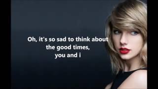 Taylor Swift   Bad Blood Lyrics