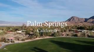 Palm Springs Drone Cinematic | DJI Spark