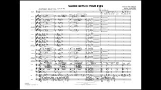 Smoke Gets In Your Eyes arranged by Roger Holmes