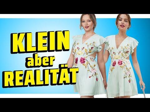 Ich teste Mode für KLEINE Frauen I Werbung VS Realität