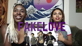 FIRST TIME WATCHING AND LISTENING TO BTS!! (FAKE LOVE REACTION)